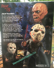 Mezco Friday 13th Jason Exclusive Glow N The Dark Bloody Variant Stylized Figure