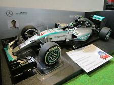 F1 MERCEDES AMG PETRONAS W06 GP AUSTRALIE 2015 formule 1/18 MINICHAMPS 110150006
