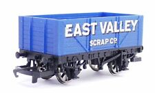 Blue OO Scale Model Train Carriages