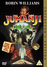 JUMANJI ( COLLECTOR`S EDITION )      BRAND NEW SEALED GENUINE UK DVD