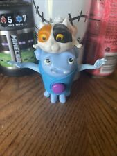MCDONALDS 2015 DREAMWORKS HOME #3 OH'S SPINNING CAT ACTION TOY 4 INCH TOY