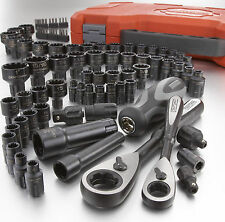 NEW Craftsman 85 pc Universal Max Axess Tool Set with Case SAE Metric piece