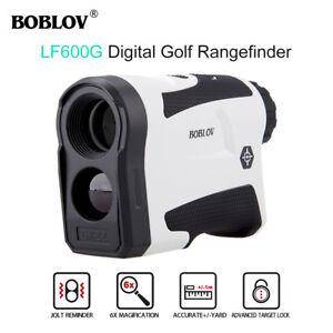 LF600G 6x 600M Golf Laser Rangefinder Monocular With Flag-Lock Built-in Battery