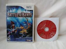 Wii Game Bundle Battle Of The Bands & RockBand Track Pack Vol.2