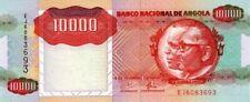 Angola billet 1991 neuf de 10000 kwanzas pick 131b UNC