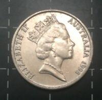 1998 AUSTRALIAN 5 CENT COIN