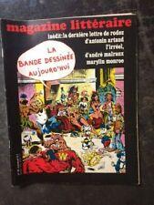LE MAGAZINE LITTÉRAIRE N°95/DEC 1974/LA BANDE DESSINEE AUJOURD'HUI