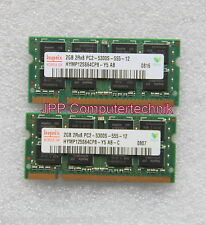 4 GB 2 x 2 GB Speicher RAM für Apple MacBook 4.1 4,1 2008 T8300 64 Bit 667 MHz
