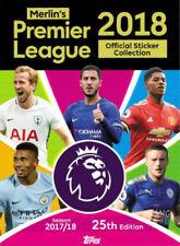 Merlin Topps Premier League 2017-18 Pegatinas-elige elegir 20 Pegatinas de la lista