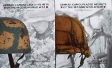 2 BOOK/LIVRE : CASQUE ALLEMAND 2ÈME GUERRE MONDIALE/GERMAN CAMOUFLAGED HELMETS