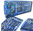 80PC SAE METRIC Tap & Die Set Bolt Screw Extractor Puller Removal Kit