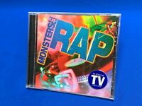 Monsters of Rap Razor & Tie CD Run DMC MC Hammer Vanilla Ice 90s Rap *SEALED OOP