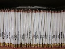 Bulk Lot Of 900 Pre Sharpened 2 Lead Wooden Pencils With Erasers Hotel Adv