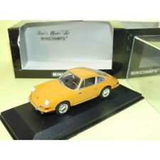 PORSCHE 911 COUPE 1964 Marron Orangé MINICHAMPS 1:43