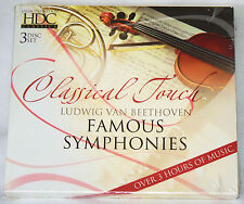 Classical Touch - Beethoven: Famous Symphonies (3 CD set 2006 BCI Music) SEALED
