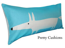 Scion Mr Fox Marine Blue Lohko Bolster Cushion Cover