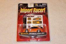 Jada Toys Import Racer! 1:64 2004 Subaru Impreza WRX STi Blobeye JDM Volk TE37
