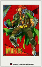 1993 Marvel Skybox Foil Trading Card F3: Ravage 2099