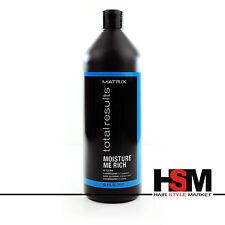 Matrix Total Results Moisture Me Rich Conditioner Balsamo Capelli Secchi 1000 ml