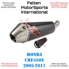 Lexx MXe Honda CRF450X Slip-On Silencer Muffler Exhaust CRF 450X Lex Pipe 05-17