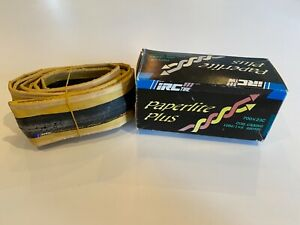 IRC Paperlite Plus 700x23c Folding tyre, NOS Vintage, Never Moundted, Org. Box