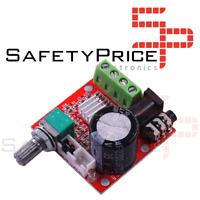PAM8610 mini amplificador de potencia TDA2030 12V 10W amplificador estéreo
