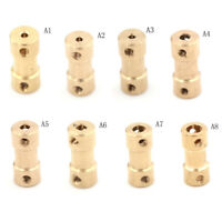 1 pcs Motor Coupling Coupler Connector Drive Shaft 2mm 5 Connector boat rc C2=TO