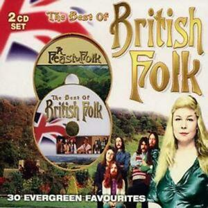 Various Artists : The Best of British Folk CD 2 discs (2004) Fast and FREE P & P