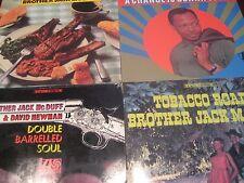 JACK MCDUFF RHINO/ATLANTIC & BLUE NOTE PRESSED 4 LPS TOBACCO RD GONNA SOUL STYLE