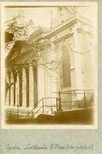Suisse, Genève, Cathédrale St-Pierre, ca.1900, vintage citrate print Vintage cit