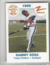1989 TULSA DRILLERS TEAM SET 27 CARDS TEAM ISSUE W/ SAMMY SOSA