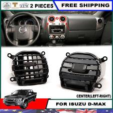 For 07-11 Isuzu D-max Dmax Holden Rodeo 2 PCS L-R Middle Vent Ventilator Grille