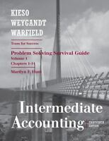 Intermediate Accounting, Chapters 1-14, Problem Solving Survival Guide (Volume