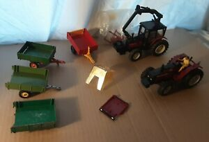 Britains Farm 1:32 Tractors And Implements Lot