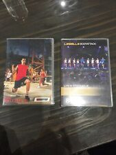 Les Mills Body Pump And Body Attack X 2 DVDs & 2 X CDs