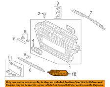 AUDI OEM 15-16 A3 Front Bumper Grille Grill-Outer Grille Left 8V3807681K9B9