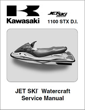 Kawasaki Jetski Jet ski 1100 STX DI 1100STX JT1100 Service Manual 2003 (B394)