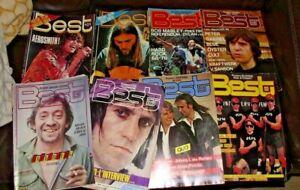 Lot 8 revue magazine Best Rock'n folk aerosmith pink floyd bob keith gainsbourg