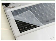 "Universal Clear Silicone Dustproof Cover Skin Keyboard Protector For 15"" Laptop"
