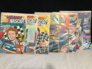 The Legends of NASCAR Comics #1-7 & 11