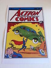 ACTION COMICS #1 COVER PRINT 1st appearance Superman