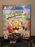 PS4 Spongebob Squarepants: Battle For Bikini Bottom Rehydrated [No Manual]
