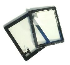 iPad 1 First Generation Front Glass Panel Digitizer Touch Screen and Frame Black