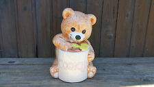 Seltene Keksdose, Cookie Jar - Keramik, Teddy Bär aus Frankreich Nr. 323