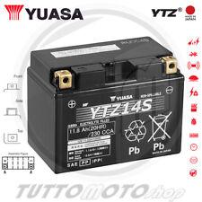 BATTERIA YUASA YTZ14S KTM RC8 1190 R  2009 2010 2011 2012 2013 2014 2015