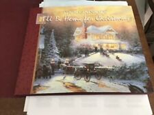 Lighted Path Collection: I'll Be Home for Christmas THOMAS KINKADE '97 LIKE NEW