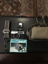 YASHICA MG-1 Camera 45 mm 1:28 Lens Vintage 1976 Made in Japan