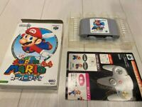 Super Mario 64 with box, Nintendo 64 N64 very good working Japan import F/S