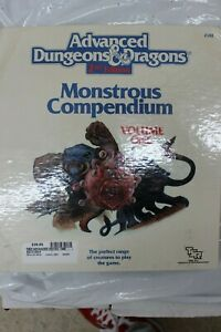 Advanced Dungeons & Dragons 2nd Edition Monstrous Compendium