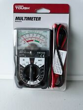 Multimeter Hyper Tough 14 Range Ac Dc Voltage Current Ohms Electrical Tester